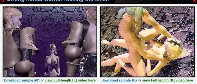 3D Hentai - warrior fucking the chick - 3D Sex Hentai Sex