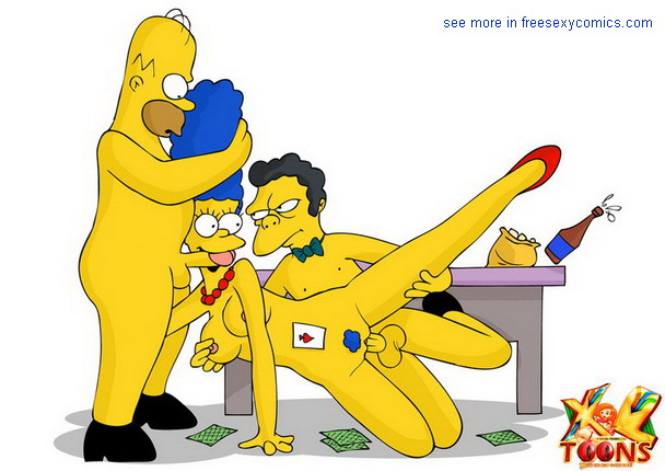 The Simpsons XXX - comics & toons - Simpsons Toons