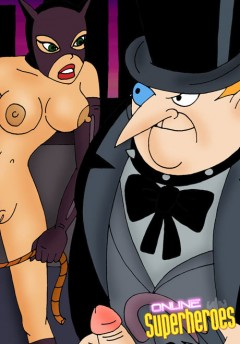 Catwoman dominating Pinguin 02