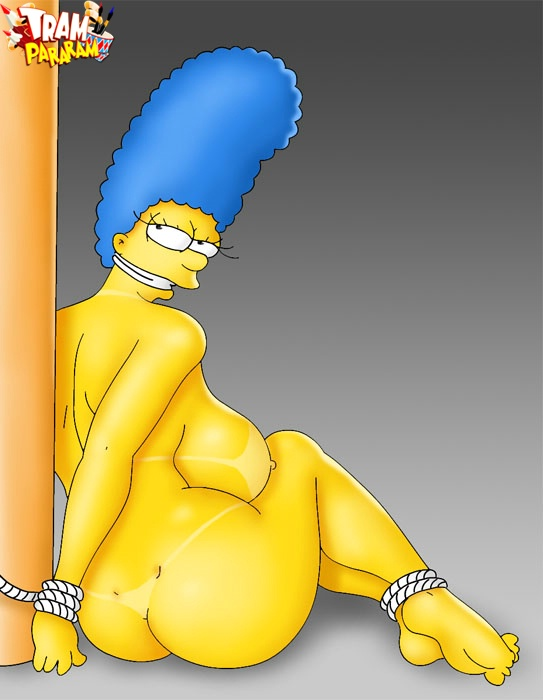 Marge Simpson and Edna