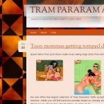 Nymphomaniac in porn comics - Tram Pararam