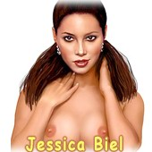 Jessica Biel art