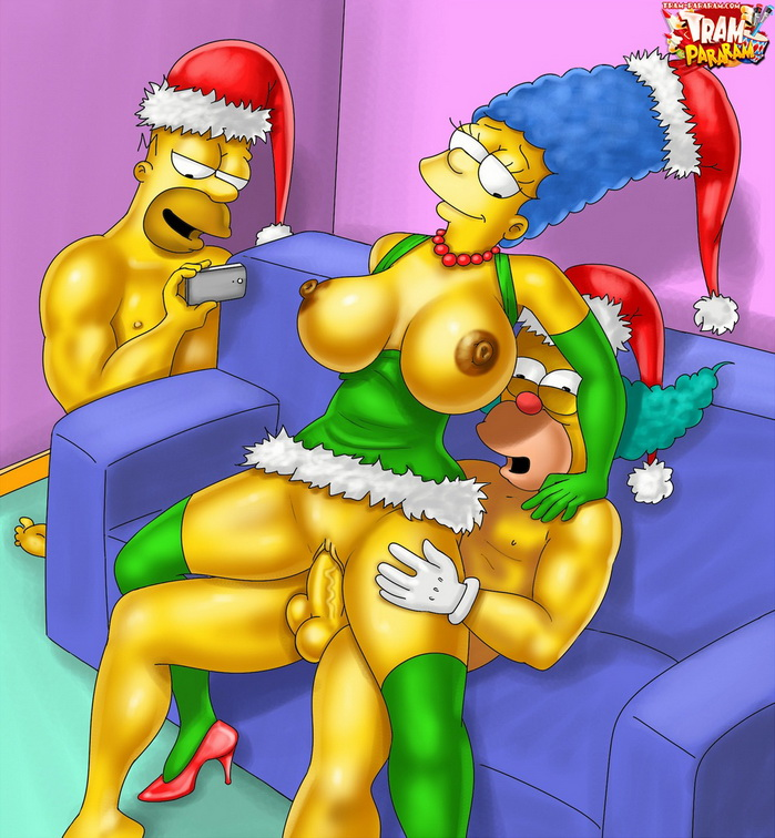 Marge Simpson XXX Christmas 3