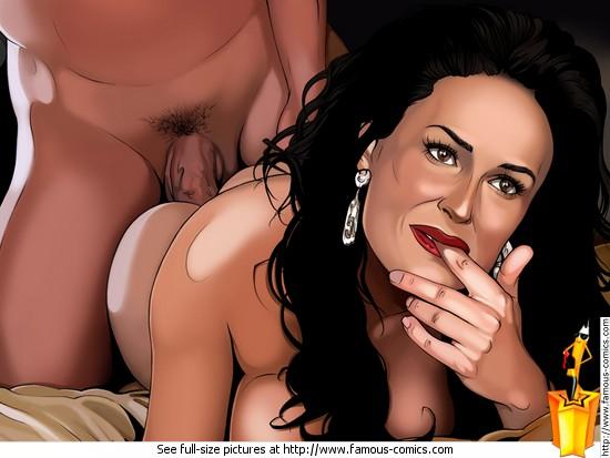 Demi moore nude comic