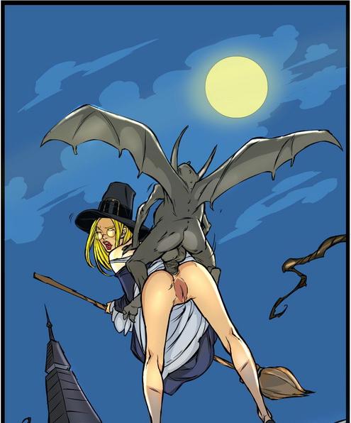 Cartoon witch xxx-c3