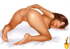 Celebs with toys - Famous Comics Maria Sharapova nude