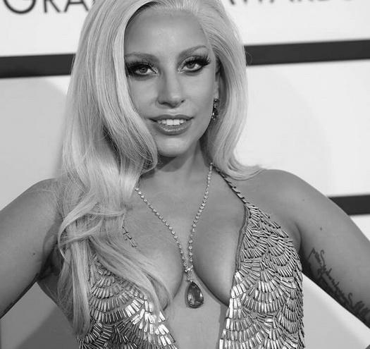 Music lady - Famous Comics Lady Gaga
