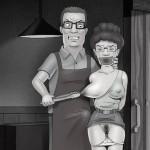 MILF hot party - Peggy Hill porn Tram Pararam