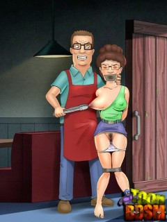XXX Toon BDSM with Peggy Hill - Toon BDSM