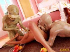 Amazing Girls for Monsters - 3D Sex Monsters Porn