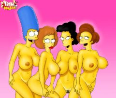 Flintstones and Simpsons - Flintstones porn Tram Pararam