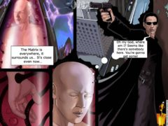 Leo vs. the Matrix porn comix - Celebs Porn Famous Comics